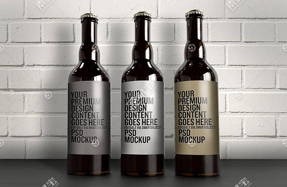 啤酒瓶子包裝樣機
