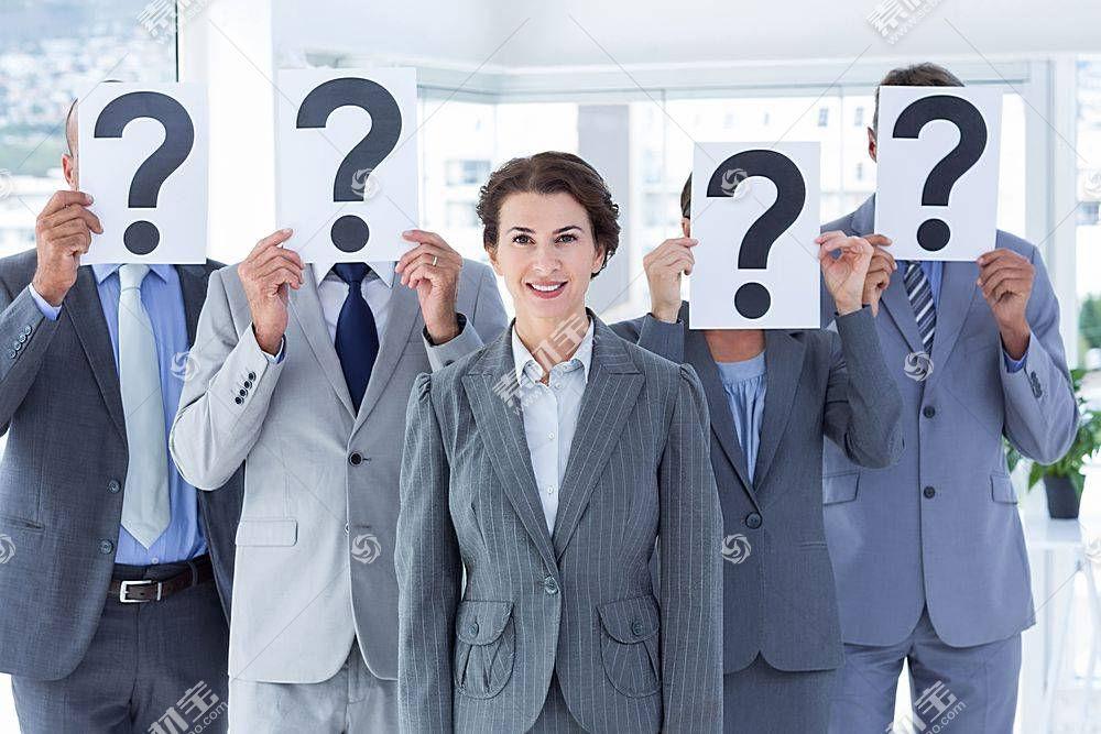 女企业家与神秘背后商务团队