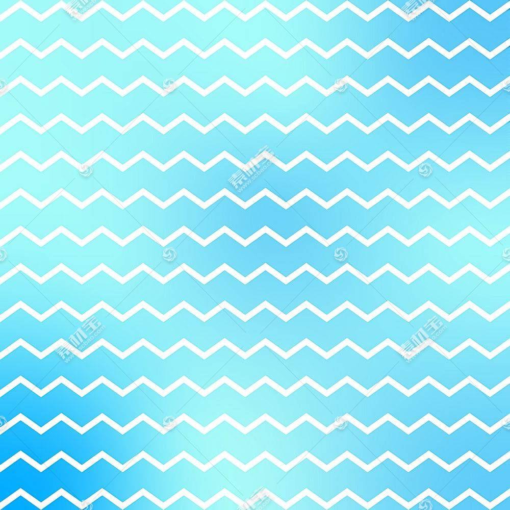 蓝色转折线装饰背景