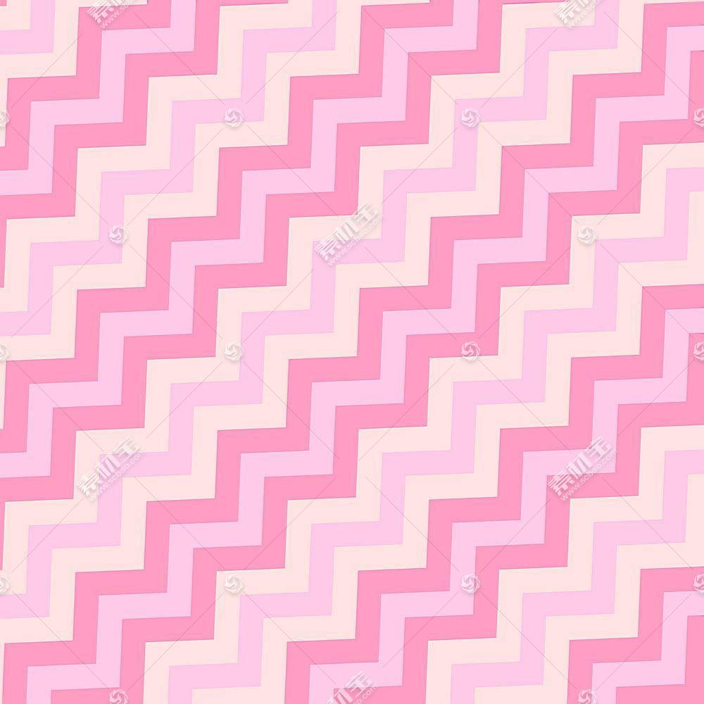 粉色转折图形装饰背景
