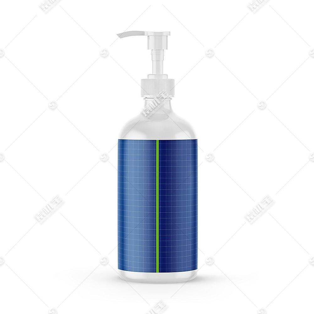 身体乳沐浴露洗手液智能样机素材