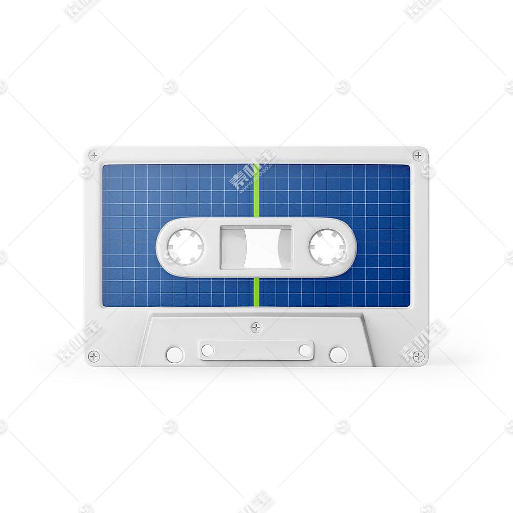 旧式录音磁带智能展示样机素材