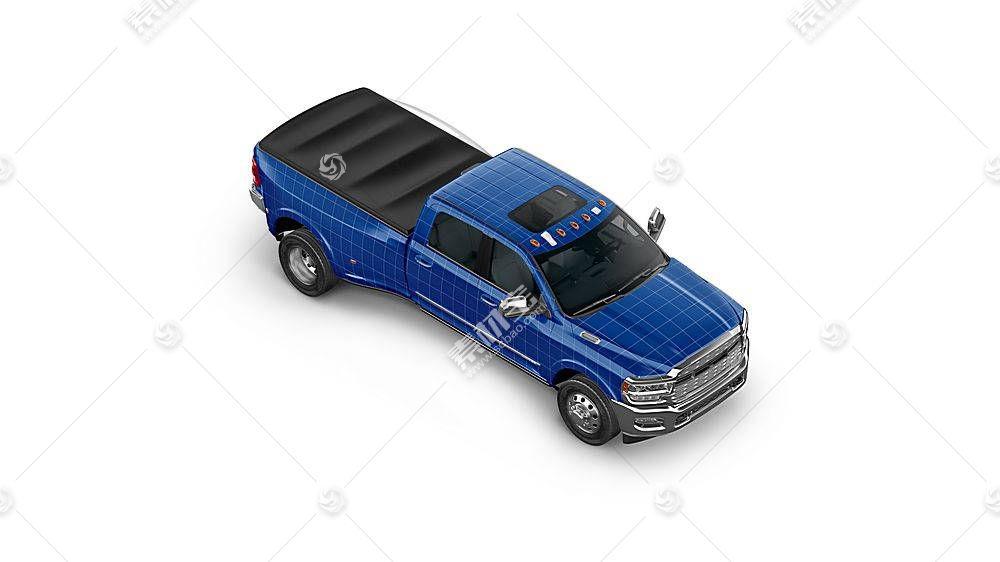 货车卡车智能展示样机素材