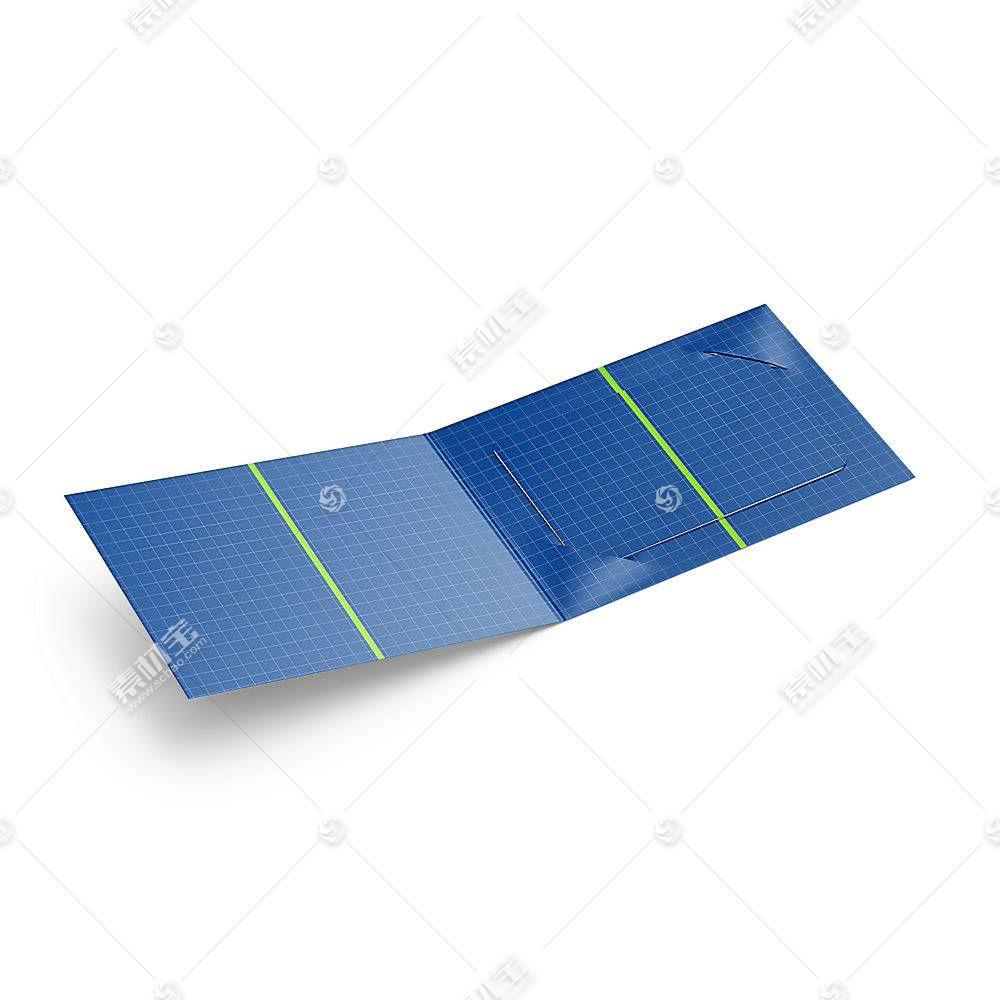 贺卡折纸智能展示样机素材