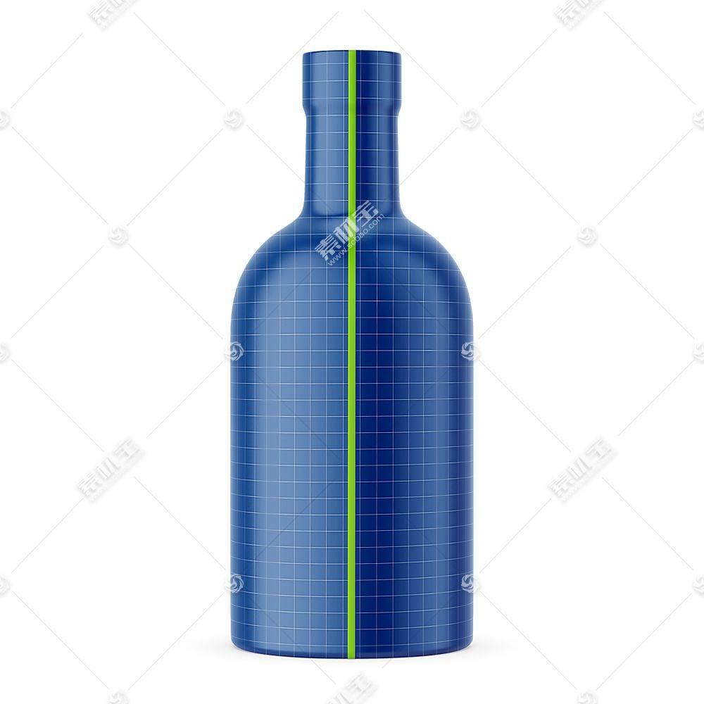 白酒瓶子智能展示样机素材