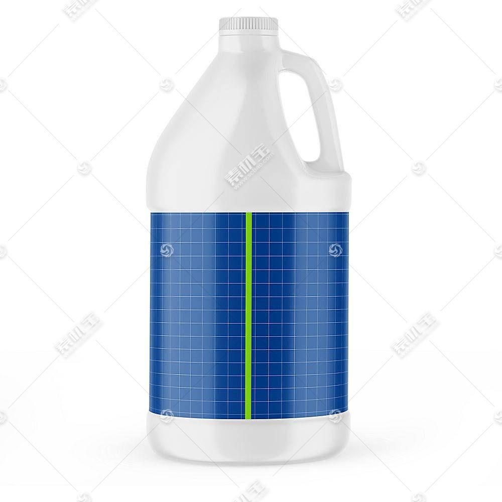 油桶塑料桶智能展示样机素材