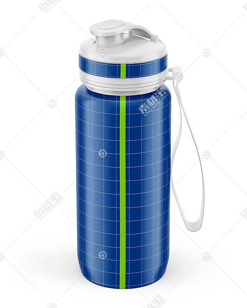 饮水瓶子智能展示样机素材