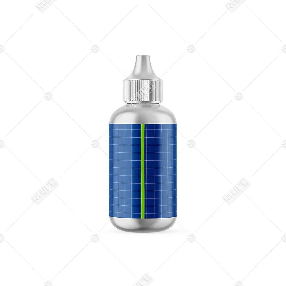 玻璃瓶子智能展示样机素材