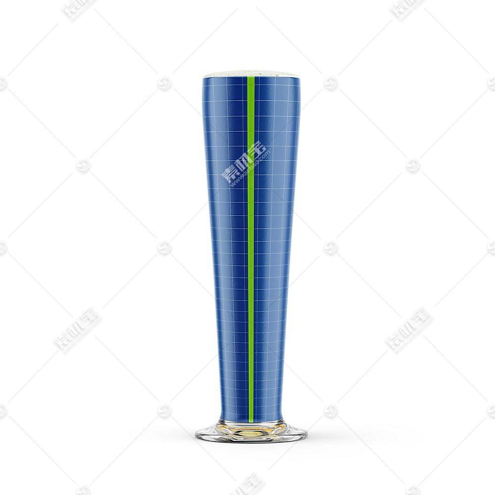 玻璃杯子智能展示样机素材