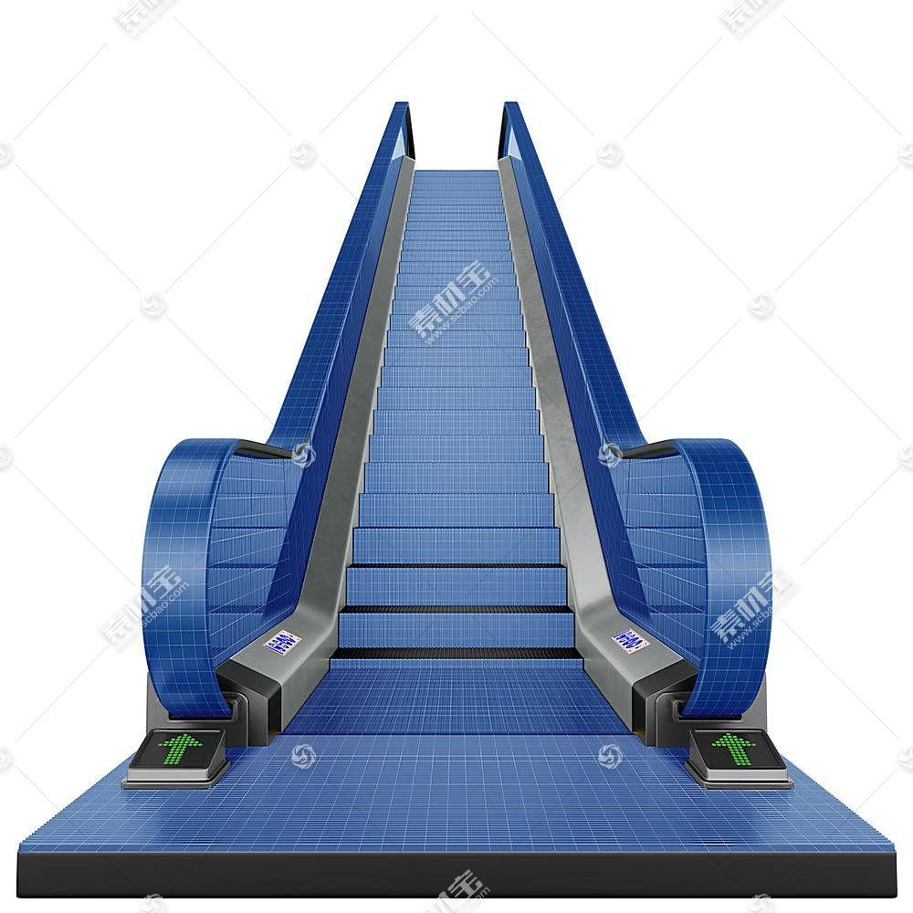 电梯智能展示样机素材