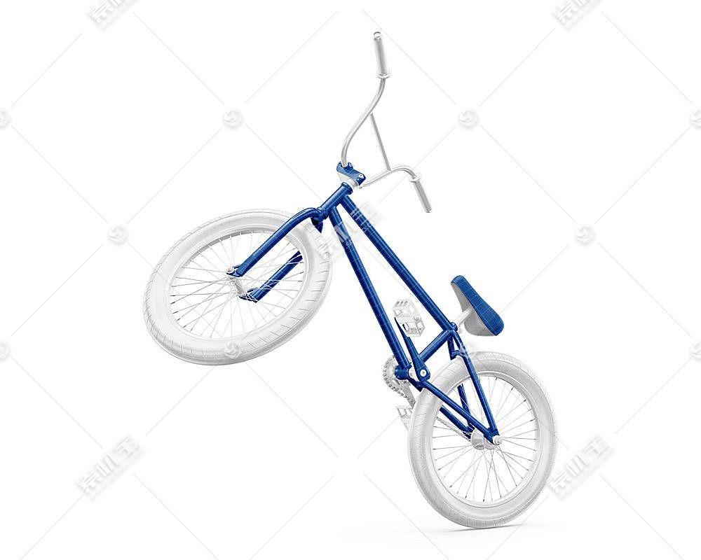 自行车智能展示样机素材