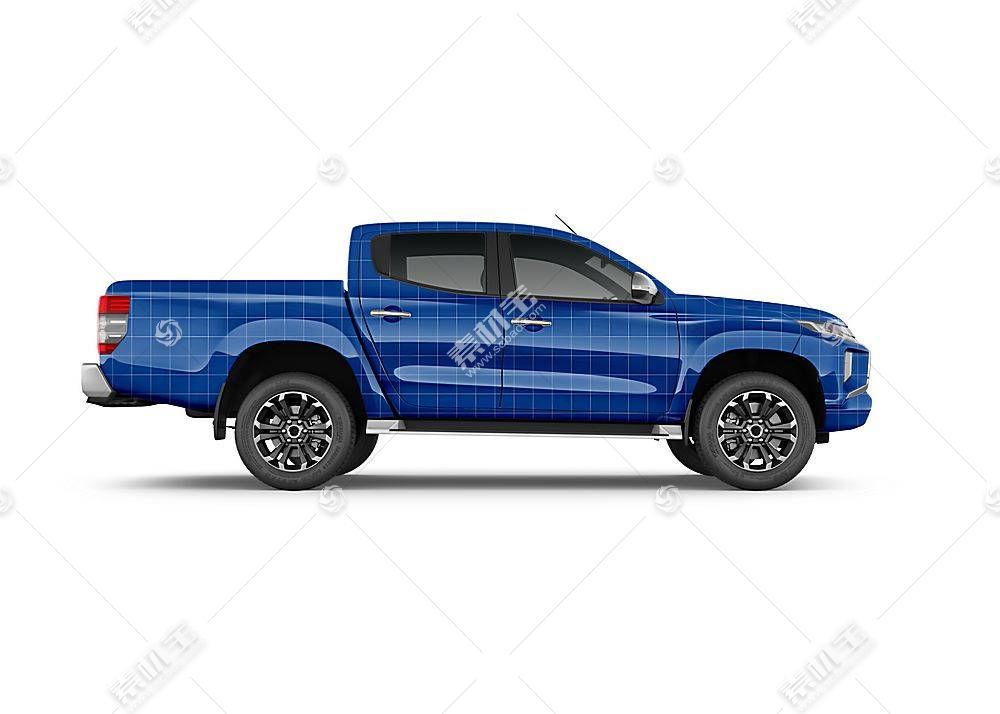 卡车车身智能展示样机素材