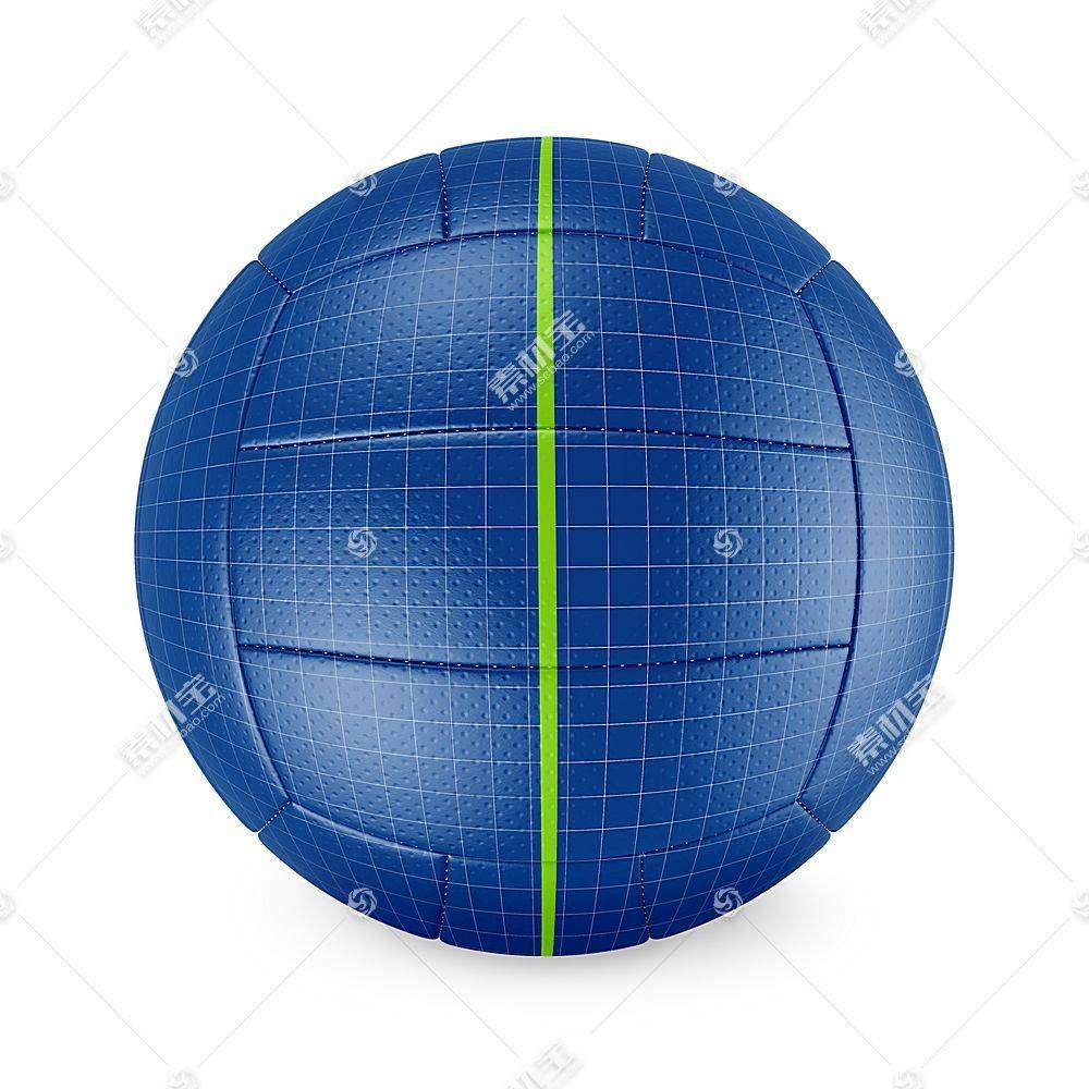 排球智能展示样机素材