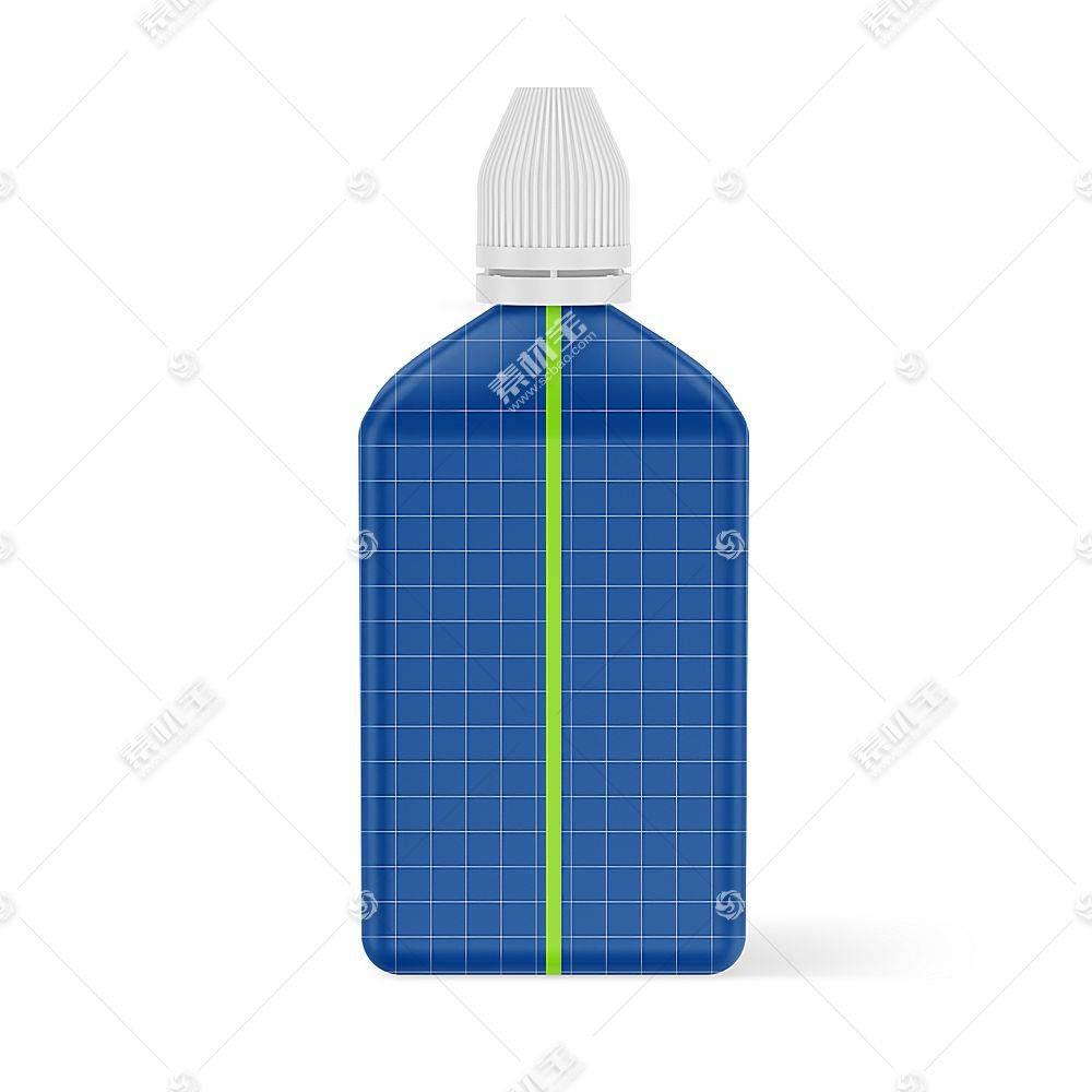 塑料瓶子智能展示样机素材