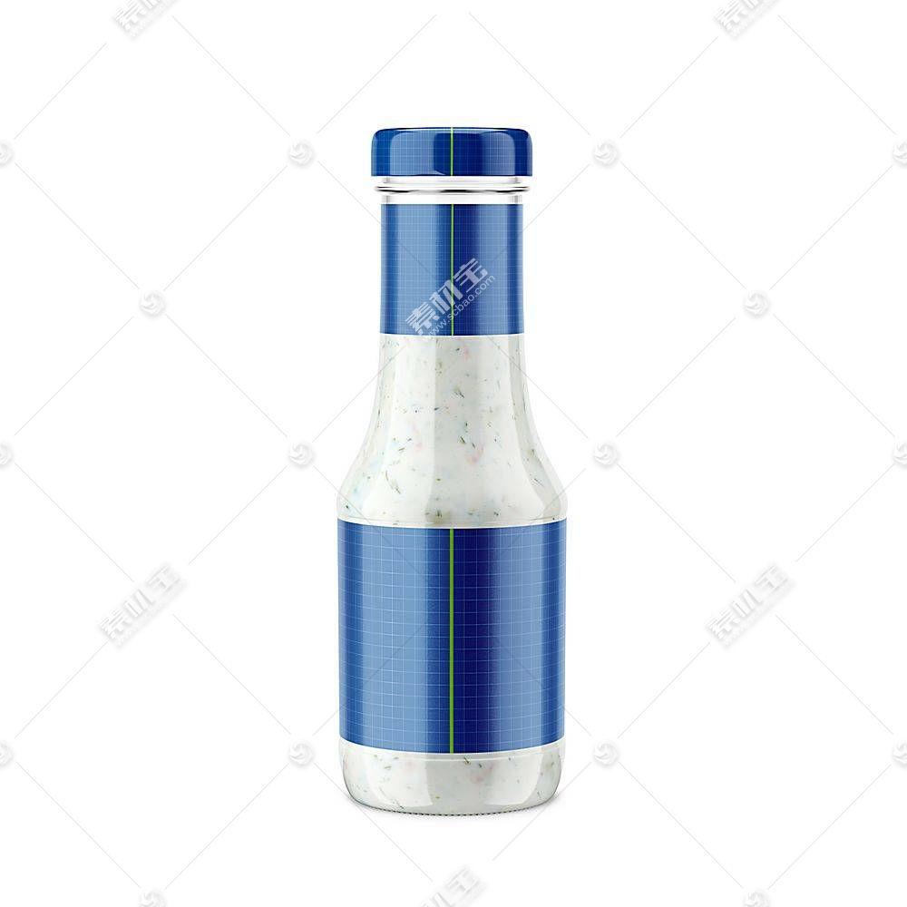 调味料瓶子智能展示样机素材
