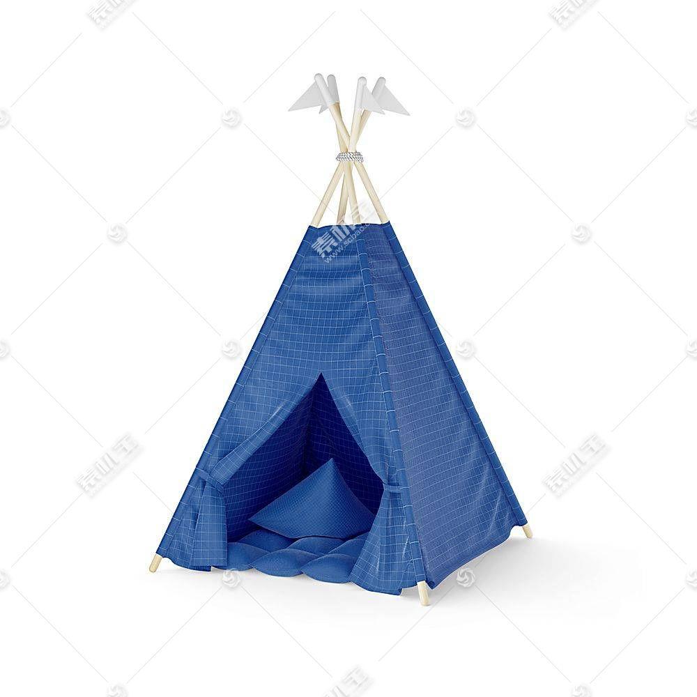 帐篷智能展示样机素材