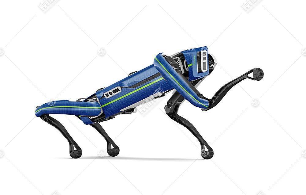 机器狗智能展示样机素材
