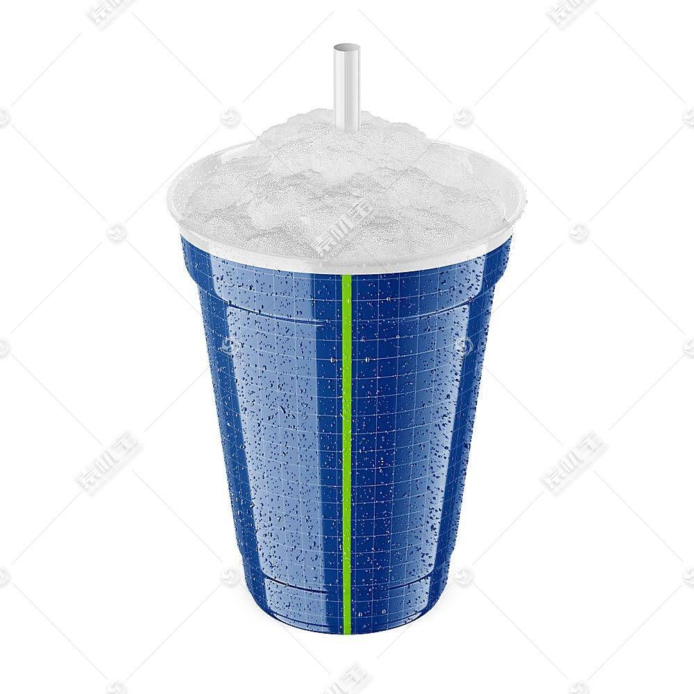 杯装冷饮杯子智能展示样机素材