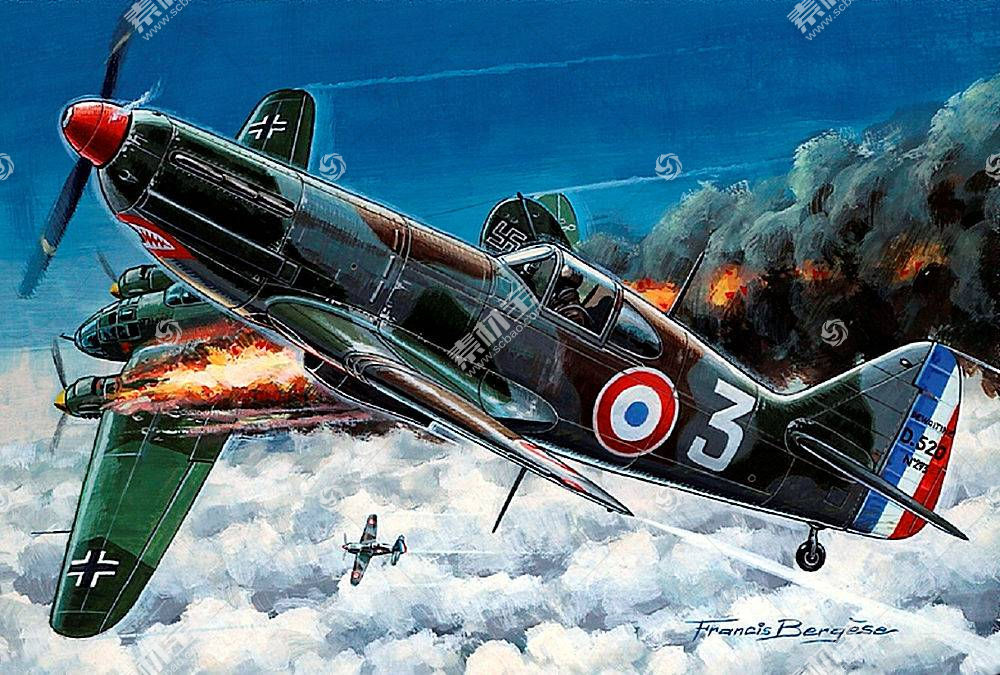 军队,德沃伊丁,D.520,军队,飞机,飞机,壁纸,