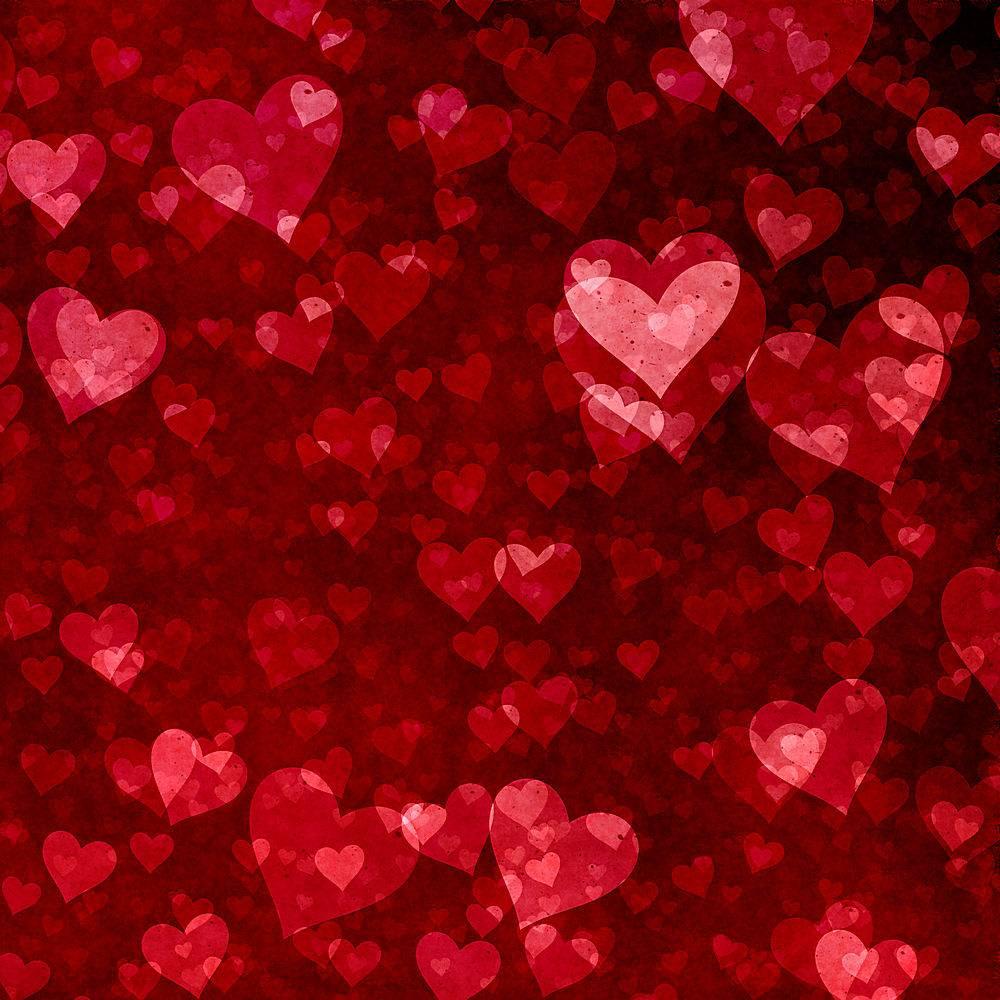 情人节背景心形图案_673236001