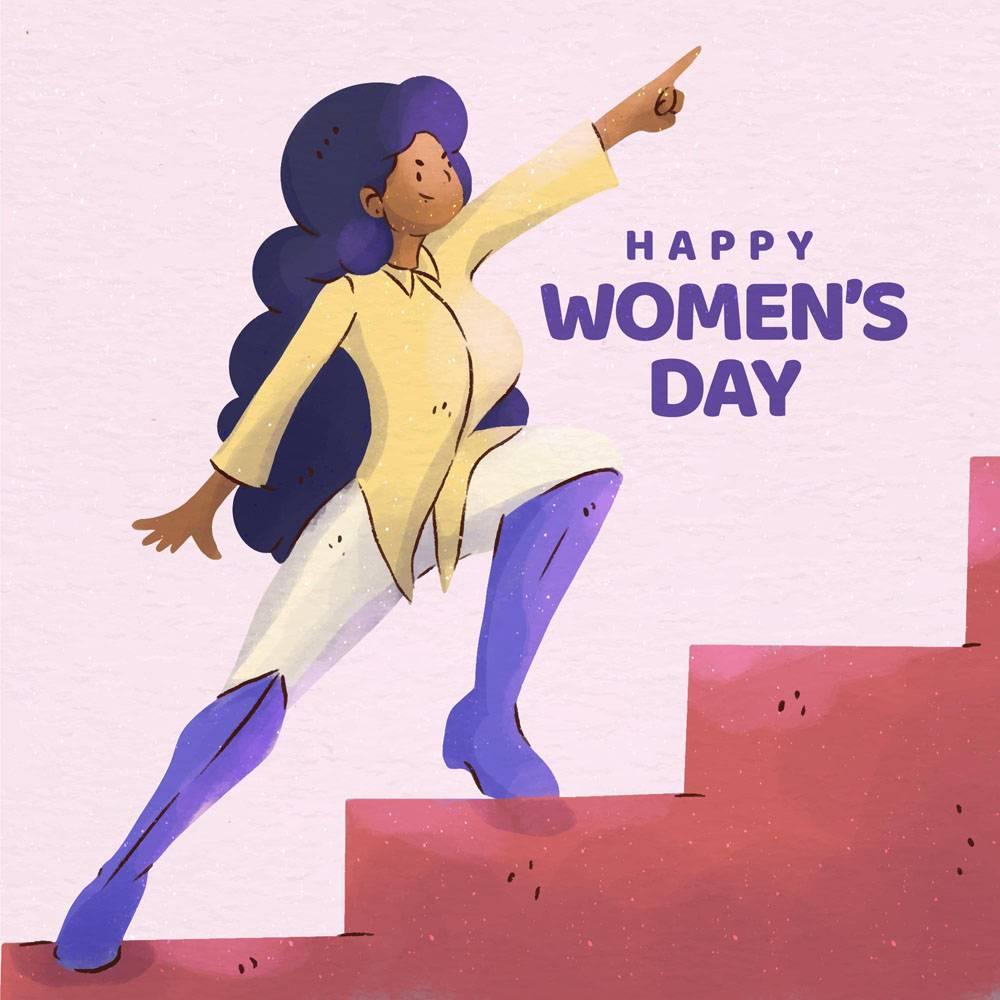 水彩画国际妇女节活动插图_121513130101