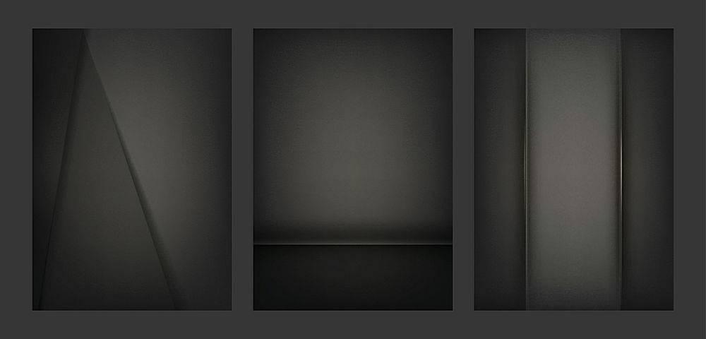 一套黑色抽象创意背景设计_34162230101