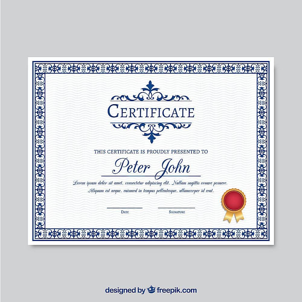 装饰证书模板_1077453