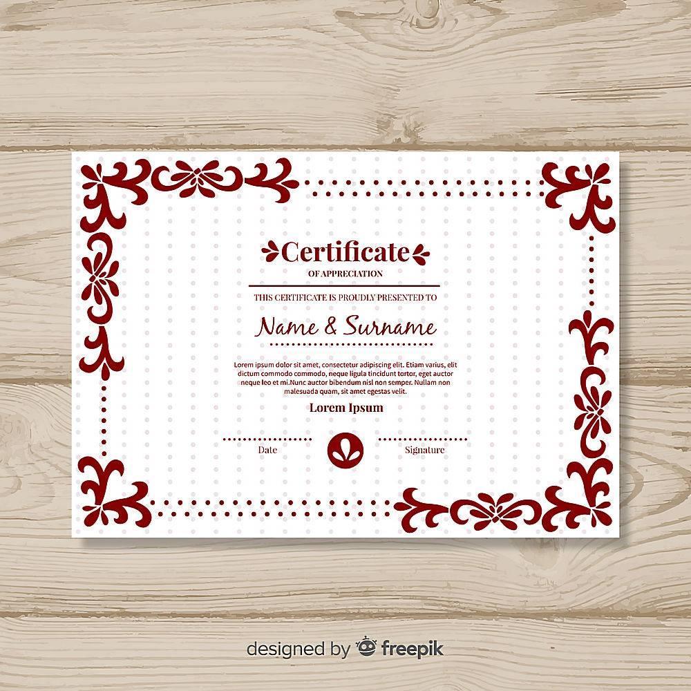 装饰证书模板_3103908