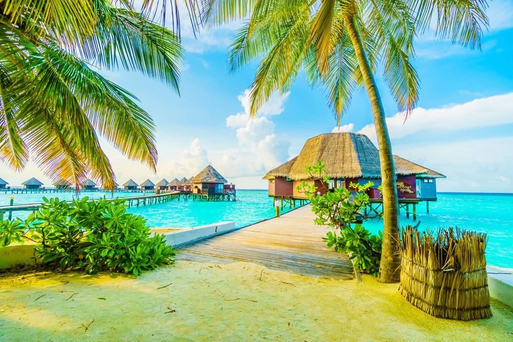 海上度假海滩别墅自然_104458901