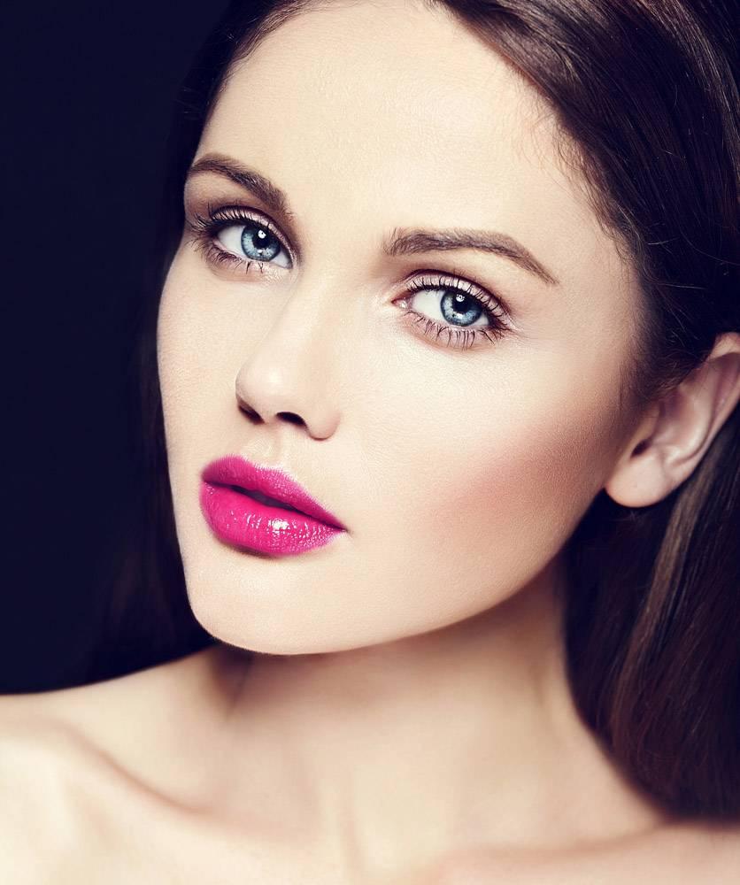 高级时尚造型迷人的特写美人肖像美丽的高_7200534