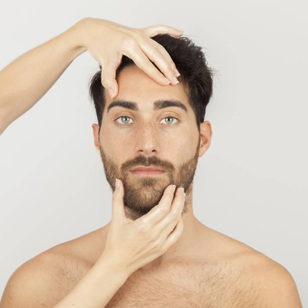 男模脸部护理_1172395