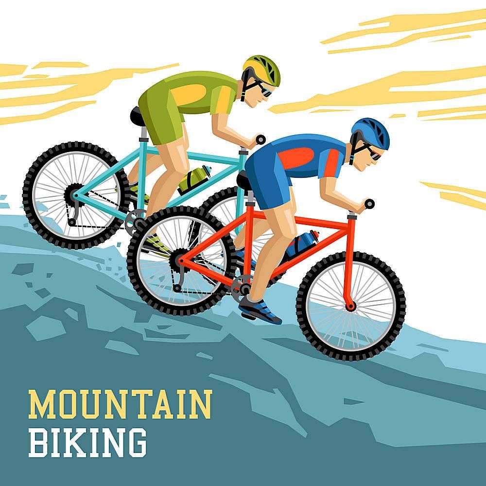 山地自行车插图_4431158