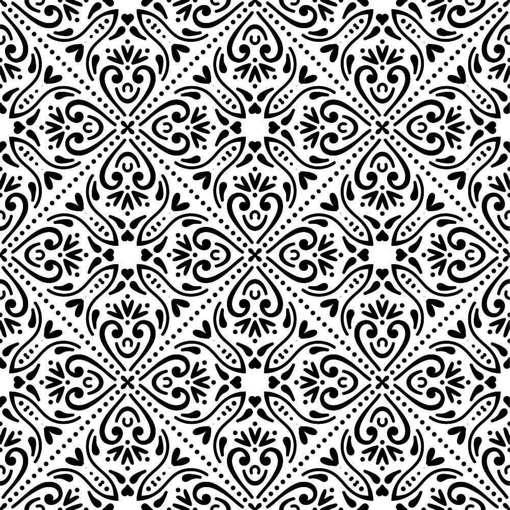 无缝图案复古装饰元素_9341263