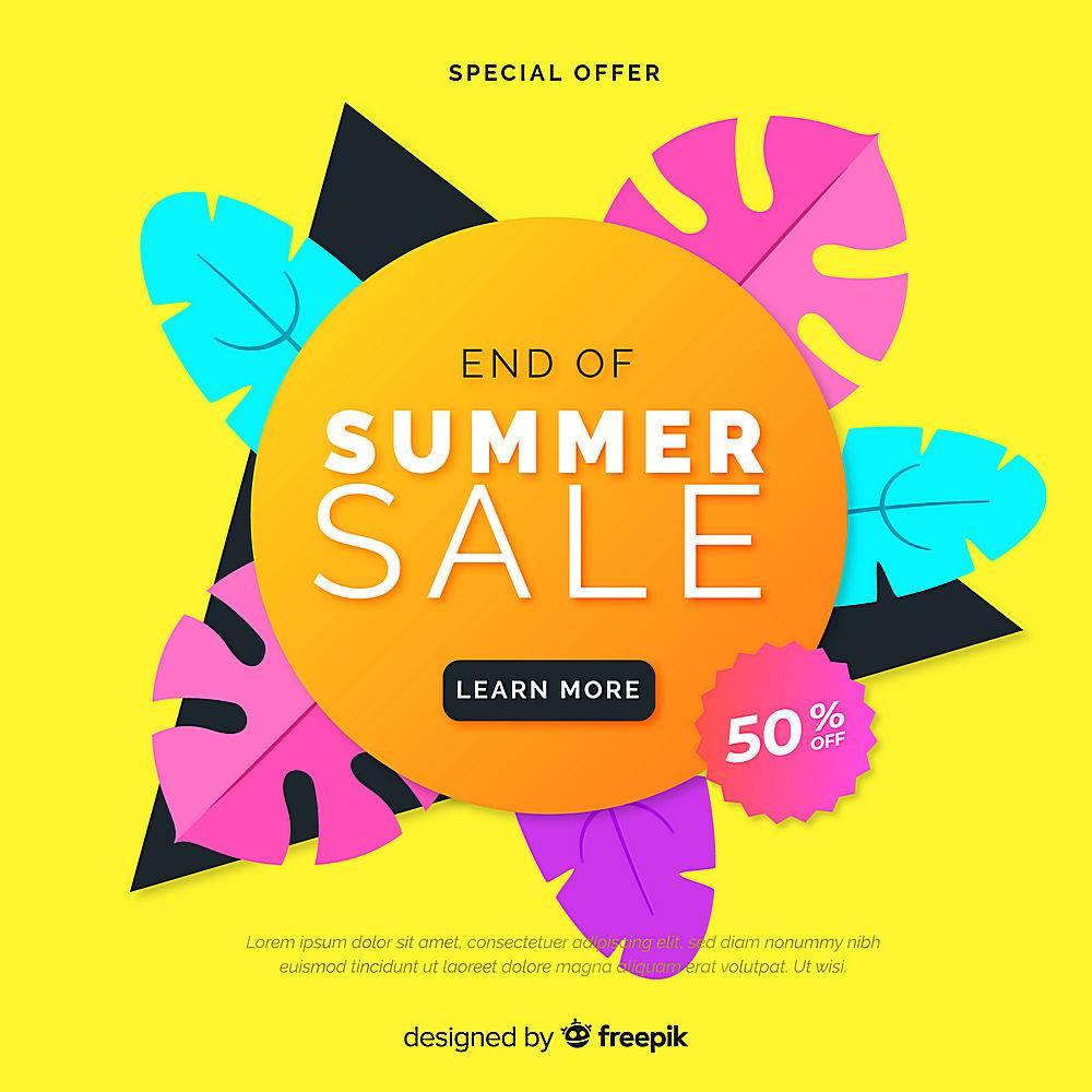 夏末销售背景_5133397