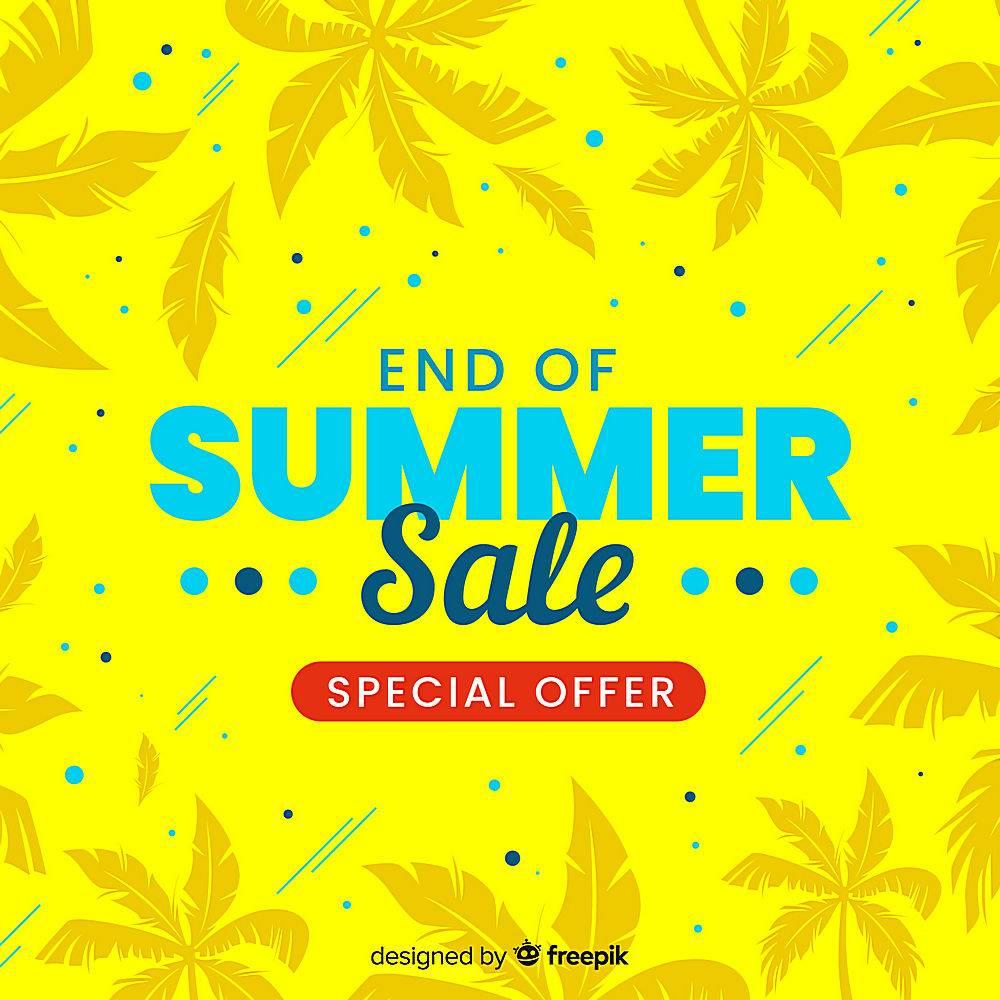 夏末销售背景_5128737