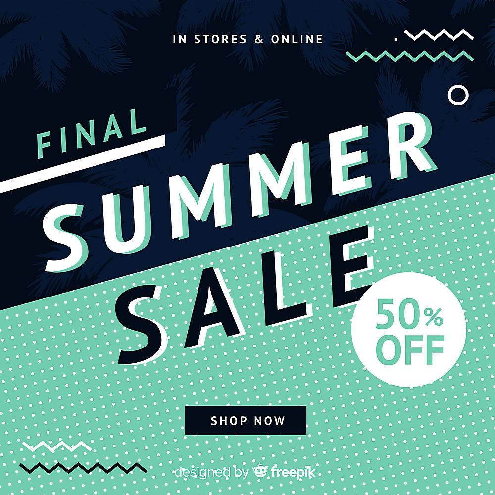 夏末销售背景_4988522