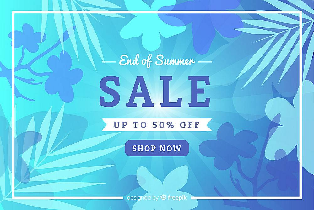 夏末销售背景_5057414