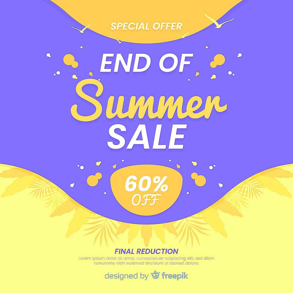 夏末销售背景_5057474
