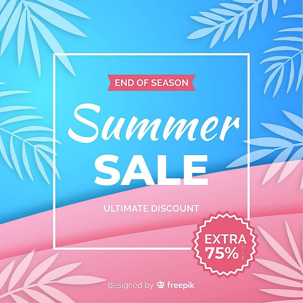 夏末销售背景_5133408