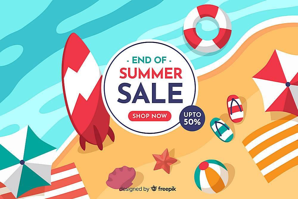 夏末销售背景_5133411