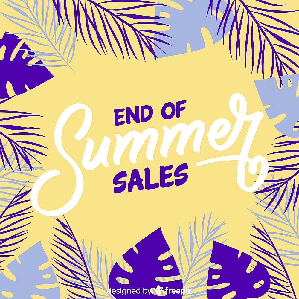 夏末销售背景_5163279