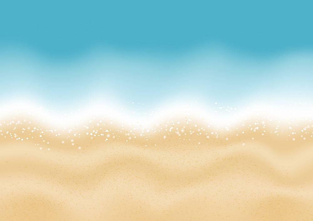 夏季海滩背景_2533765