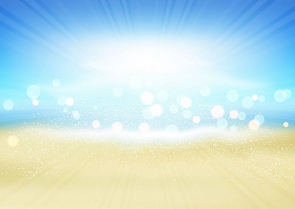 夏季海滩背景_2602878