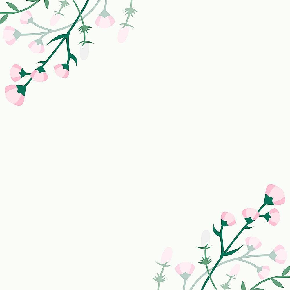 夏季花卉背景_3594127
