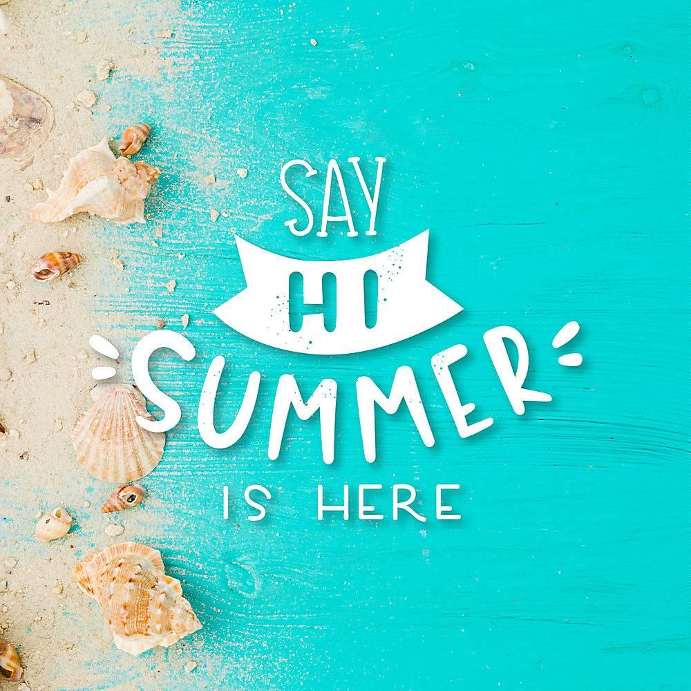 夏日字体背景_7683553
