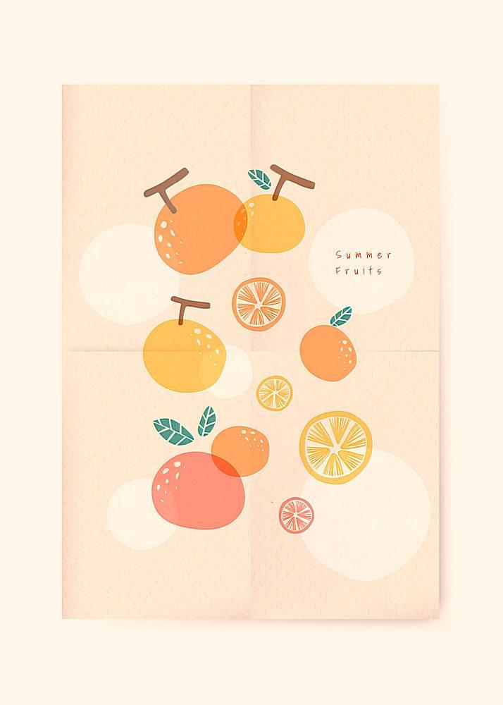 夏日水果背景_4520951