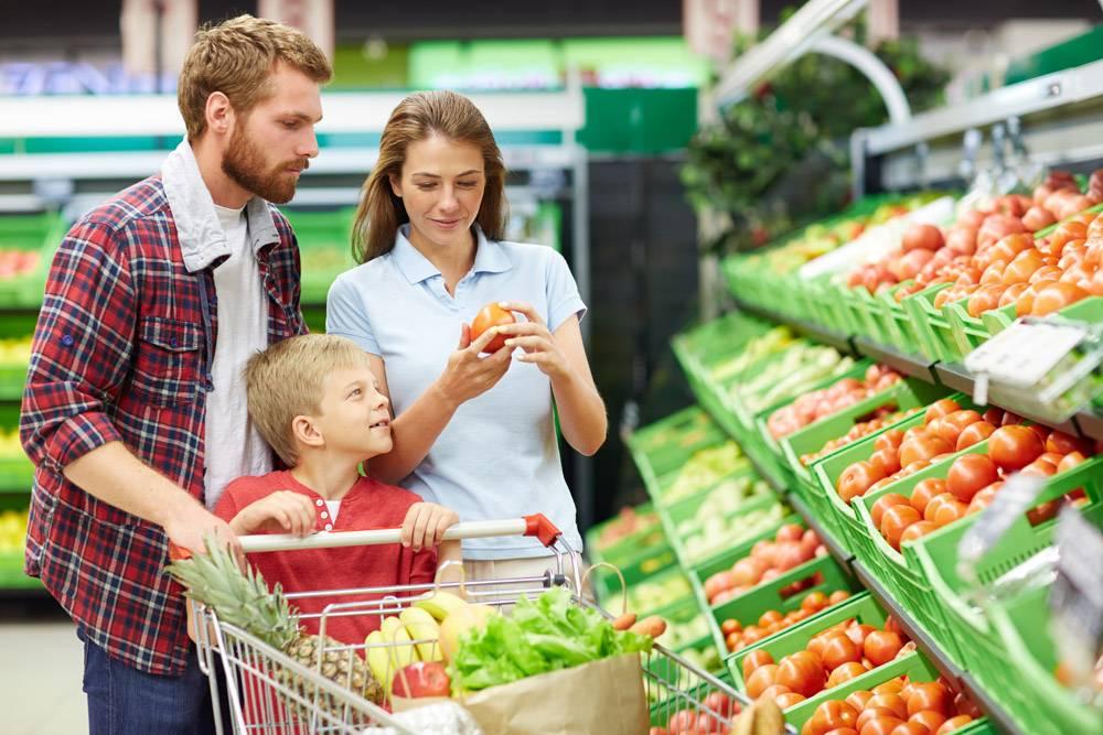 超市里的西红柿杂货店_5401478