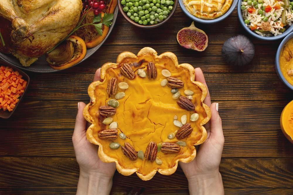 感恩节餐饮概念特写_10302811