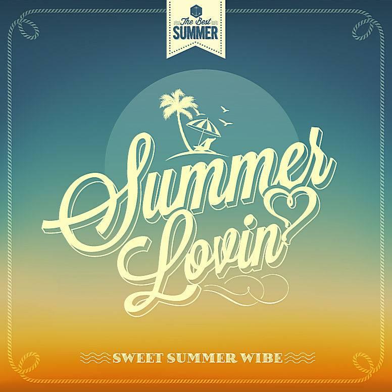 夏季背景设计_995225