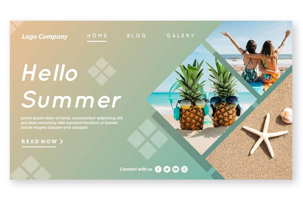 您好夏季登录页面附图_8247582